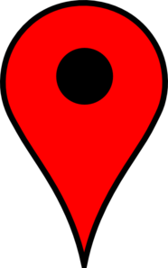 Map Pin Red Md